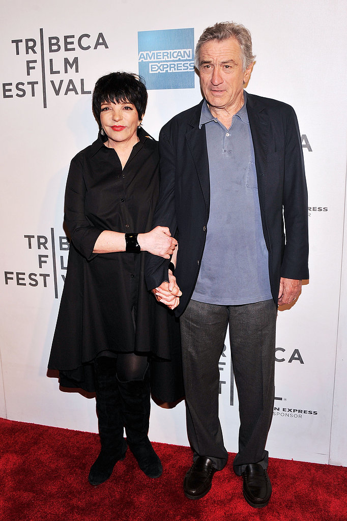 Liza Minnelli and Robert De Niro linked up at the Tribeca Film Festival premiere of Mistaken For Strangers.