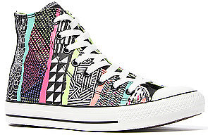 Converse The Chuck Taylor All Star Hyperculture Hi Sneaker in White Multi