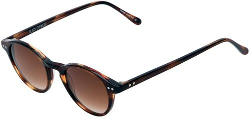 Black Eyewear Woody Light Tortoiseshell Sun