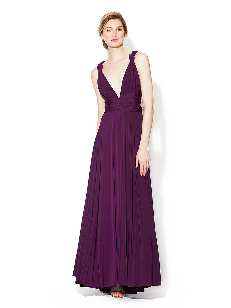 You can really wear this twobirds jersey convertible gown ($133-$199, originally $310) after the wedding is over.