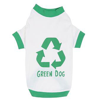 Canine Green Dog Eco-Friendly Shirt