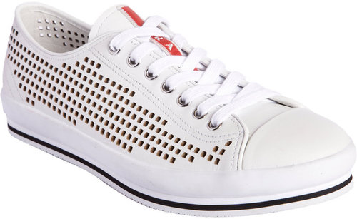 Prada Perforated Sneaker