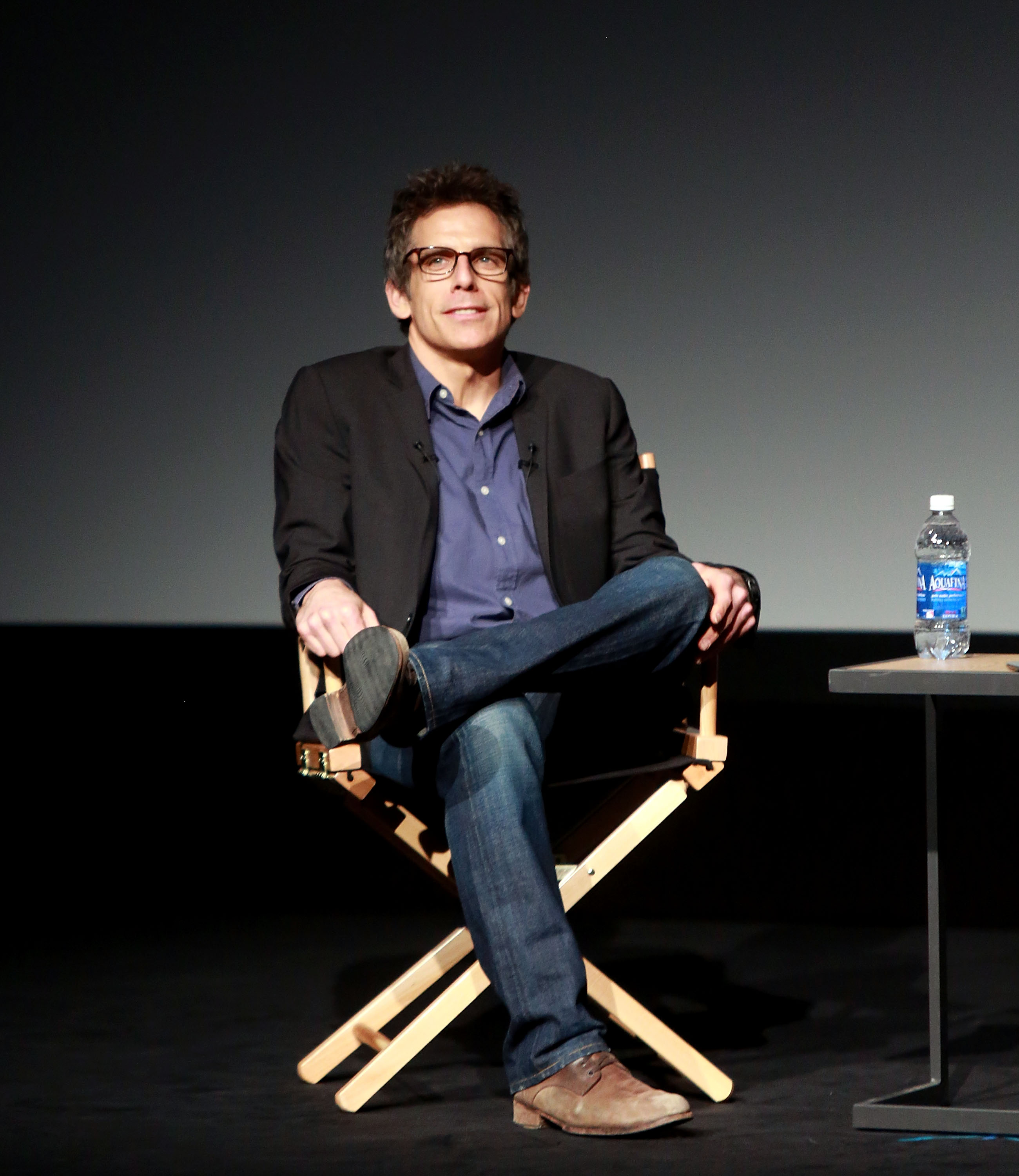 Ben Stiller spoke at the Tribeca Talk's director's series.