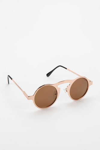 Metal On Metal Round Sunglasses