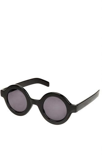 Sarah Chunky Round Sunglasses