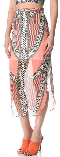 Mara hoffman Print Skirt
