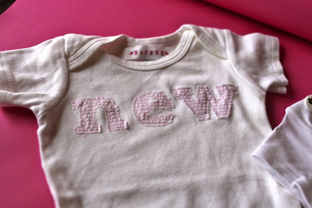 A New Onesie For a New Baby
