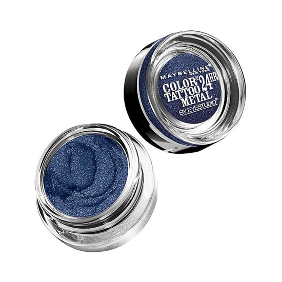 Highly pigmented shadow that doesn't fade is hard to find. Enter Maybelline Color Tattoo ($7). It goes on bright and stays on all day.