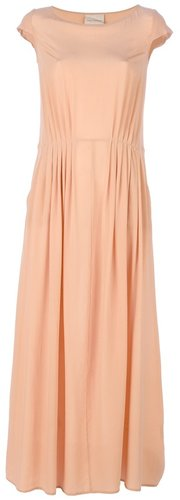 Erika Cavallini Semi Couture pleated maxi dress