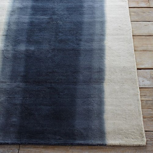 Ombre Dye Wool Rug - Midnight