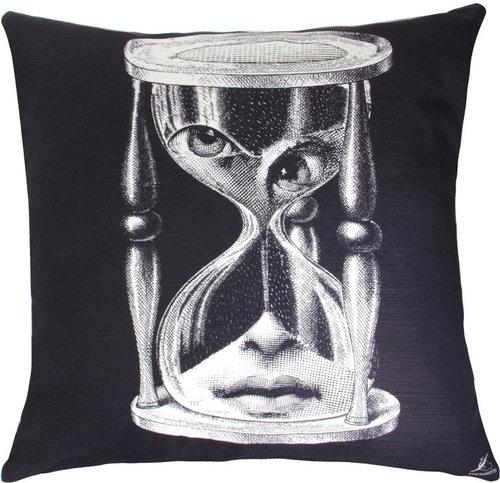 Fornasetti Il Tempo Pillow