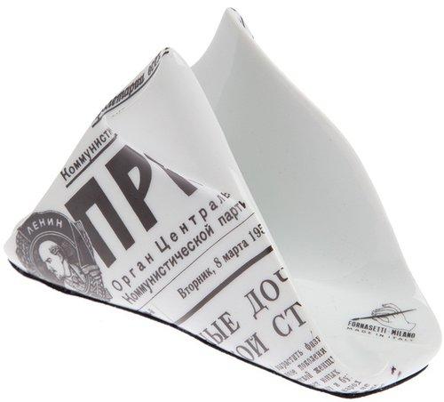 Fornasetti ceramic napkin holder