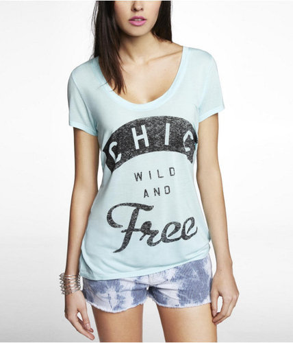 Graphic Tee - Chic Wild And Free