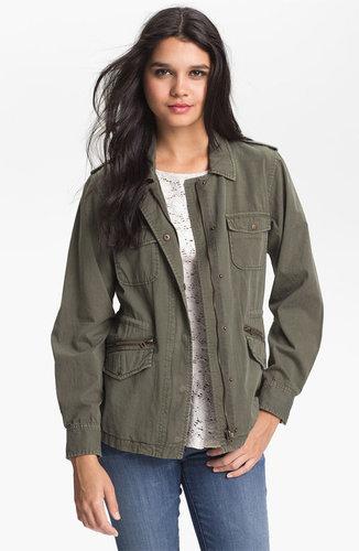 Lily Aldridge for Velvet by Graham & Spencer Army Jacket