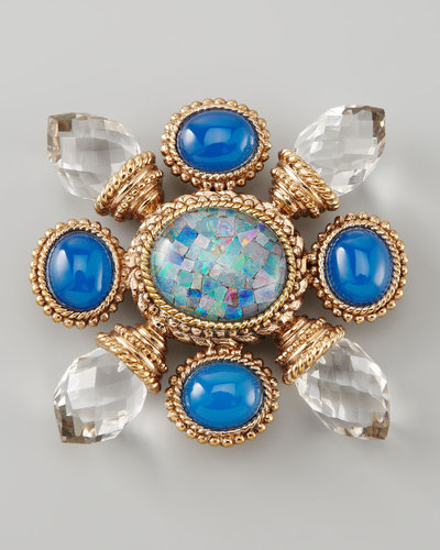 Stephen Dweck Multi-Stone Brooch