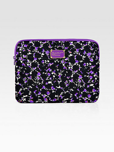 Marc by Marc Jacobs Printed Nylon Laptop Case