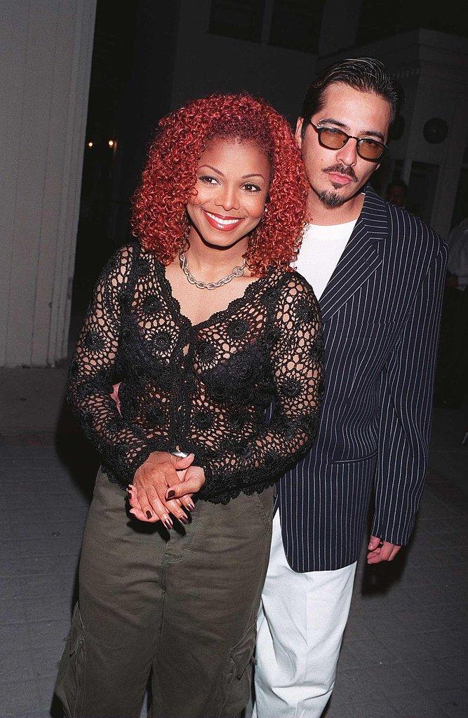 Janet Jackson and René Elizondo Jr.