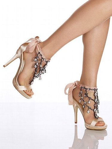 Colin Stuart Chandelier Stiletto Sandal