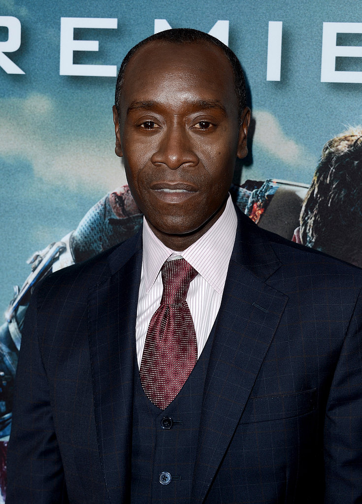 Don Cheadle attended the LA premiere.