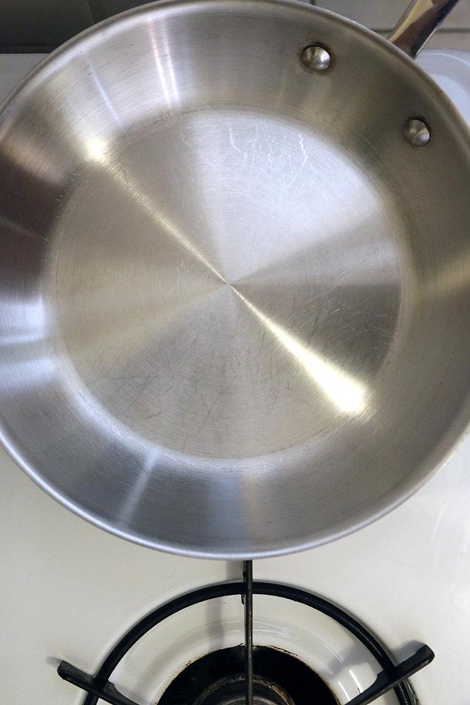 Heat the Pan