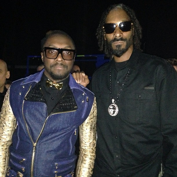 Will.I.Am hung out with Snoop Do