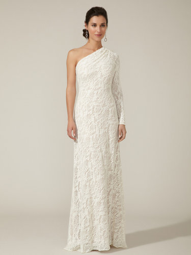 Knit Crocheted Lace Gown