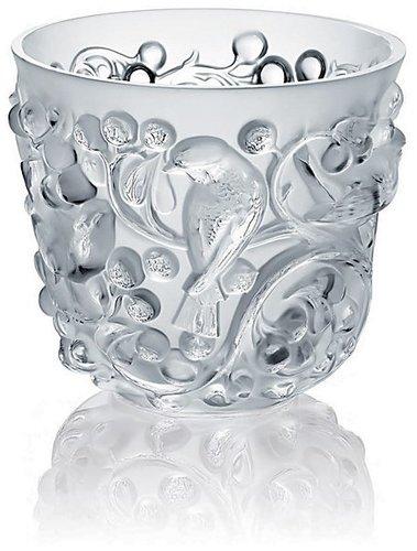 """Hommage à René Lalique """"Avallon"""" Vase"""