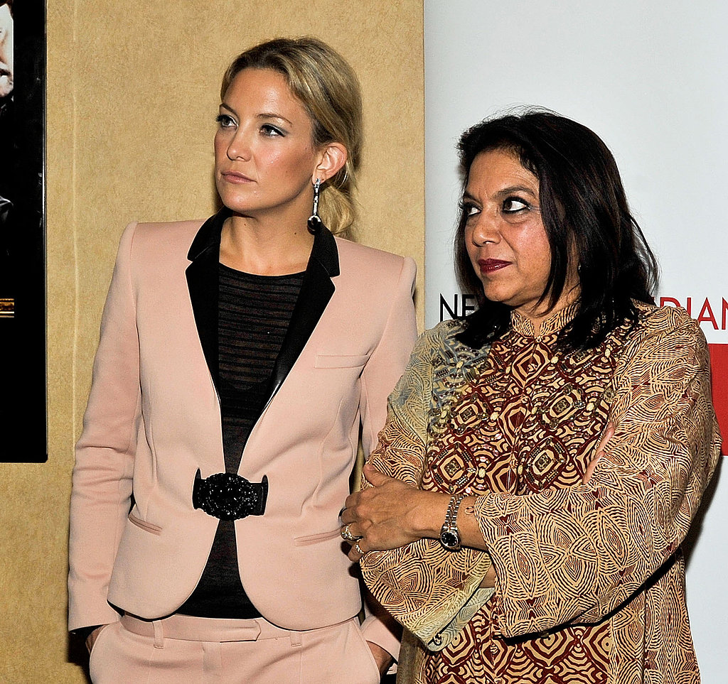 Kate Hudson Suits Up to Support Her Director at the NY Indian Film Festival