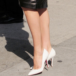 Celebrities Love White Pumps For Spring