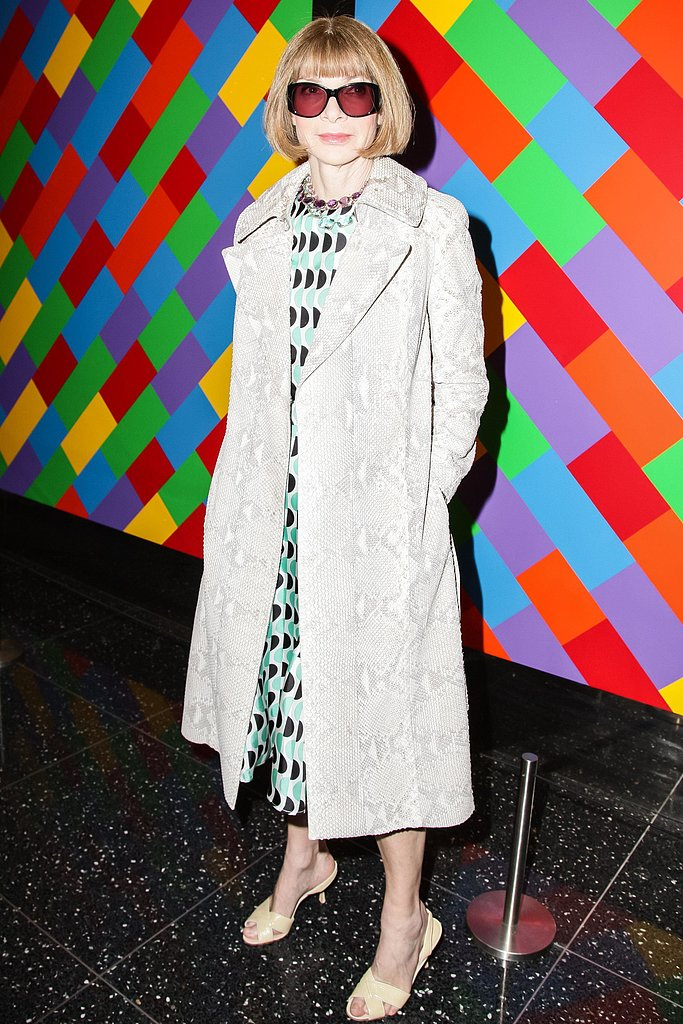 Anna Wintour at The Cinema Society's screening of Mud in New York. Source: Matteo Prandoni/BFAnyc.com