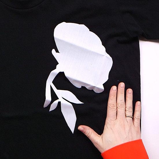 DIY Floral Applique Shirt | Video