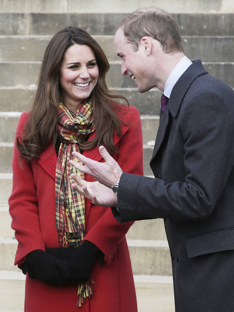 Kate Middleton listened closely while Prince William chatted during a visit to the Dumfries House in March 2013.