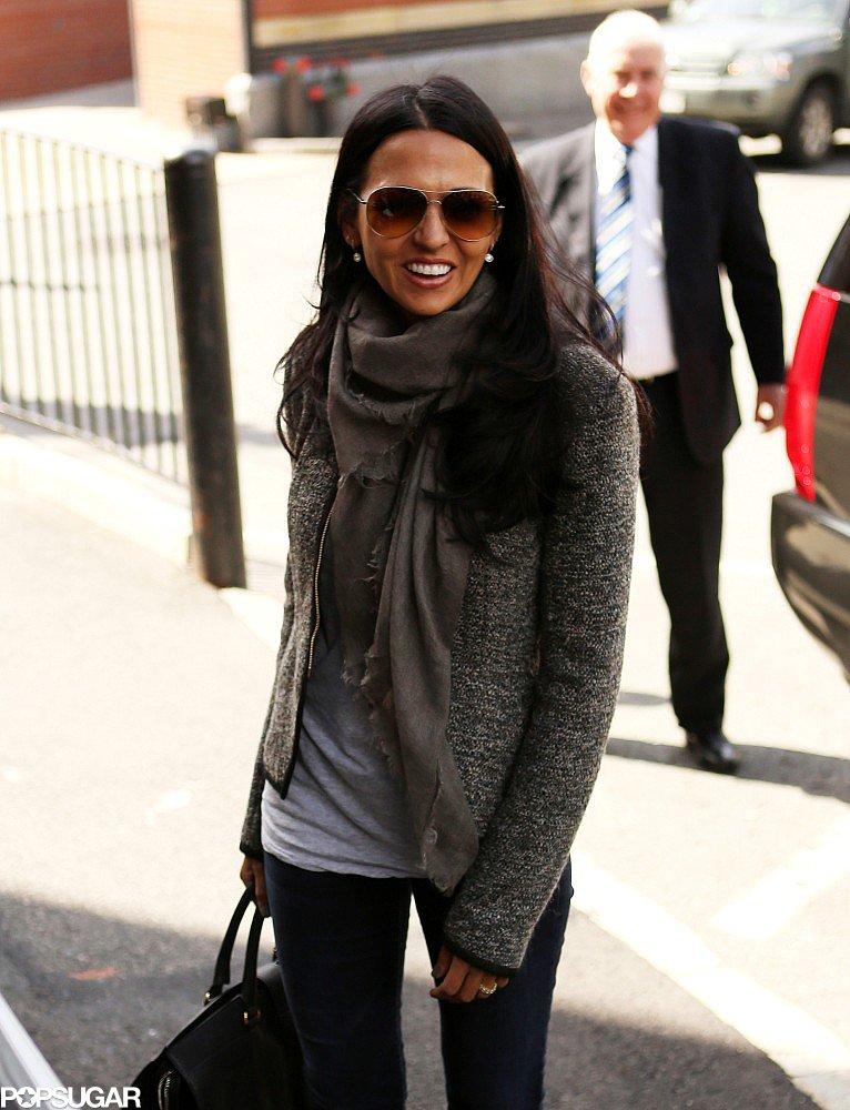 Luciana Damon smiled at Harvard University.