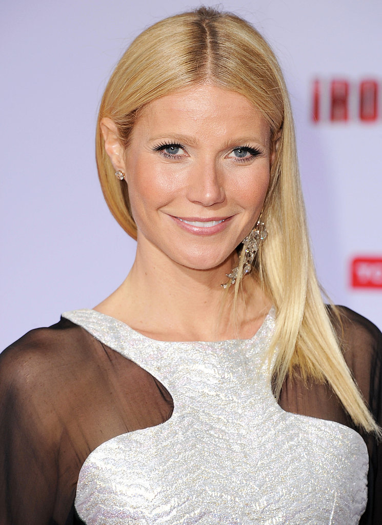Gwyneth Paltrow's luscious lashes