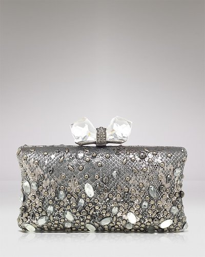 Overture Judith Leiber Clutch - Concave Side Rectangle