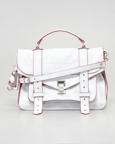 Proenza Schouler PS1 Medium Mailbag, White