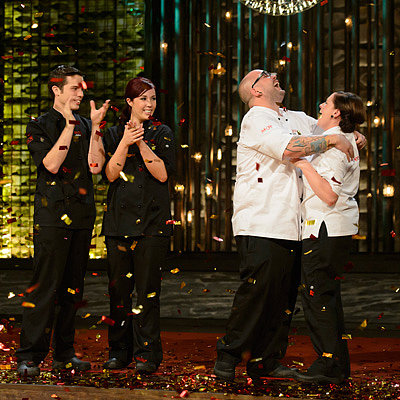 My Kitchen Rules 2013 Grand Final Recap: Dan and Steph Win