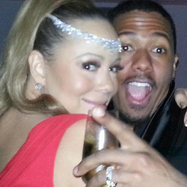 Mariah Carey and Nick Cannon celebrated the beginning of 2013 in Australia in December 2012.  Source: Instagram user mariahcarey