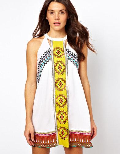 River Island Misha Mexican Dress