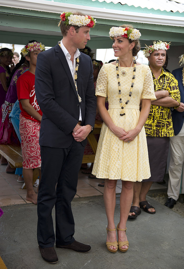 The Royal Couple at Nauti Primary School