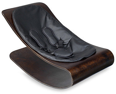 Coco™ Stylewood™ Baby Lounger in Midnight Black by Bloom®