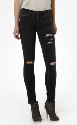 Destroyed Legging Jeans