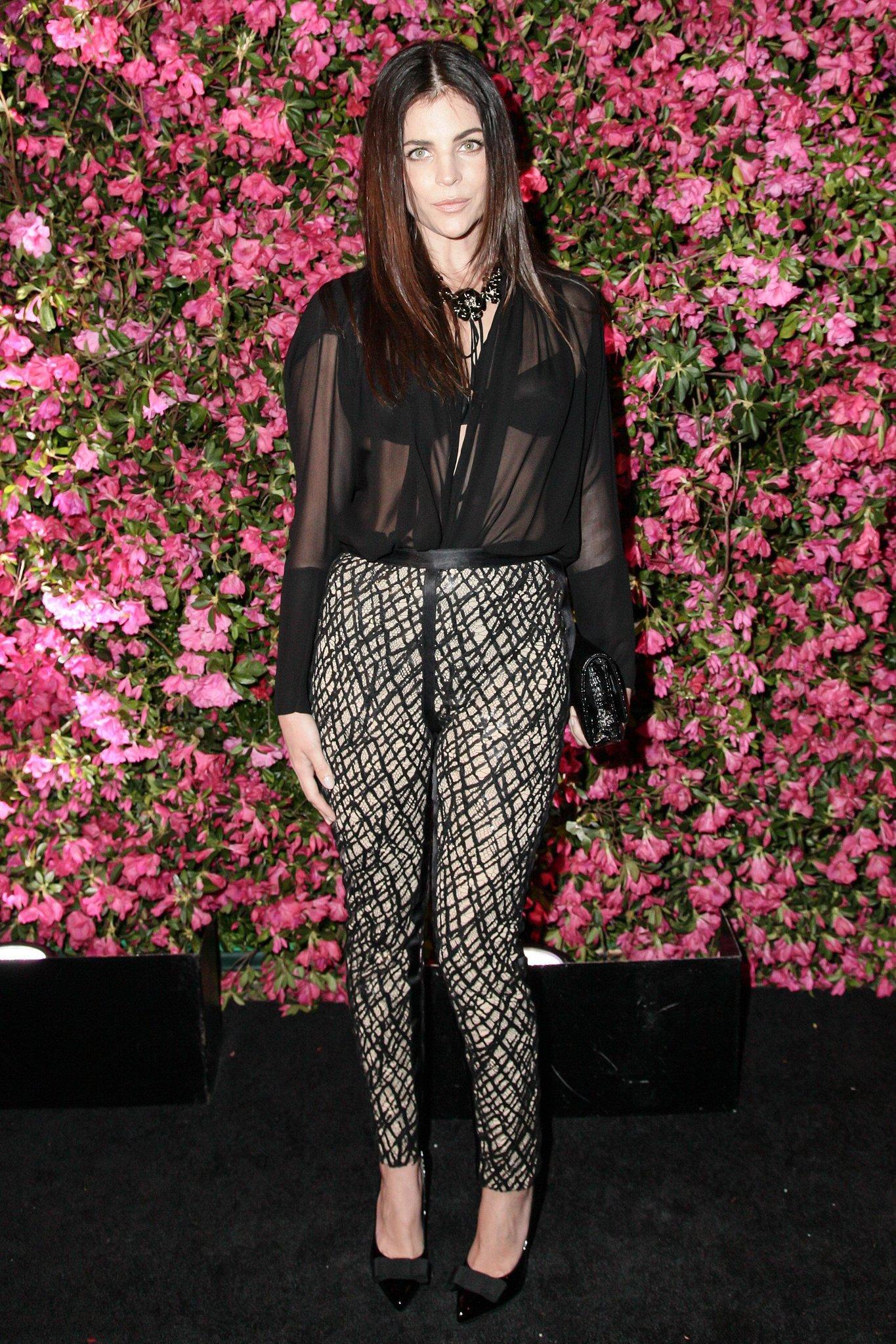 Julia Restoin Roitfeld wore Fall 2012 Chanel trousers at Chanel's Tribeca Film Festival Artists Dinner in New York. Source: Matteo Prandoni/BFAnyc.com