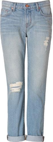 J Brand Jeans Aidan Boyfriend Jeans in Meadow