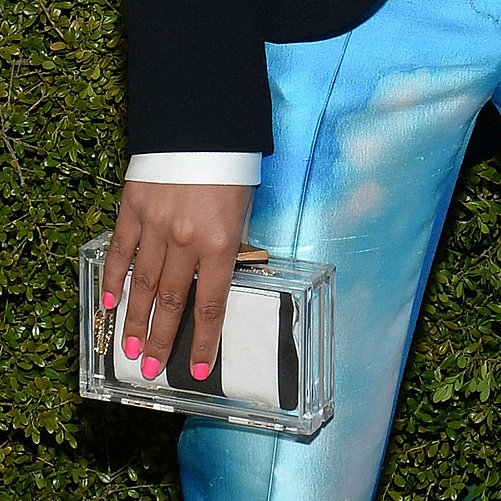 Lucite Bag Trend (Pictures)