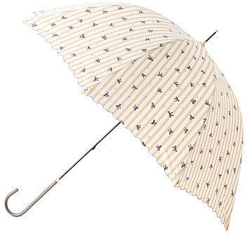 ジ・エンポリアム ストライプリボン長傘