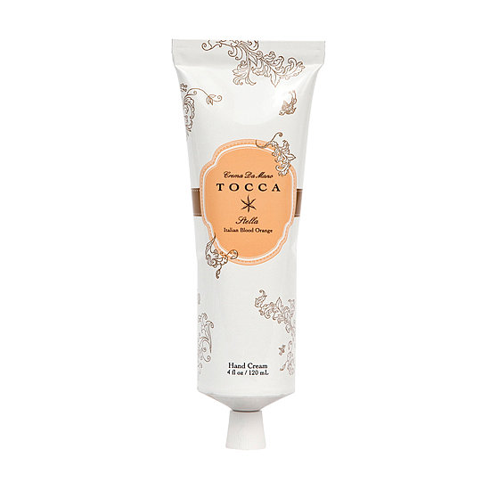 Hand cream is a daily essential that we all squeeze through pretty quickly, and the latest one to add to your shopping list should be Tocca's Crema de Mano in Stella ($20). This sizeable tube is filled with a nourishing blend of coconut oil, shea butter, and aloe to quickly soften and hydrate your palms, leaving them with the warm, fresh scent of blood orange. I seriously can't get enough. — KD