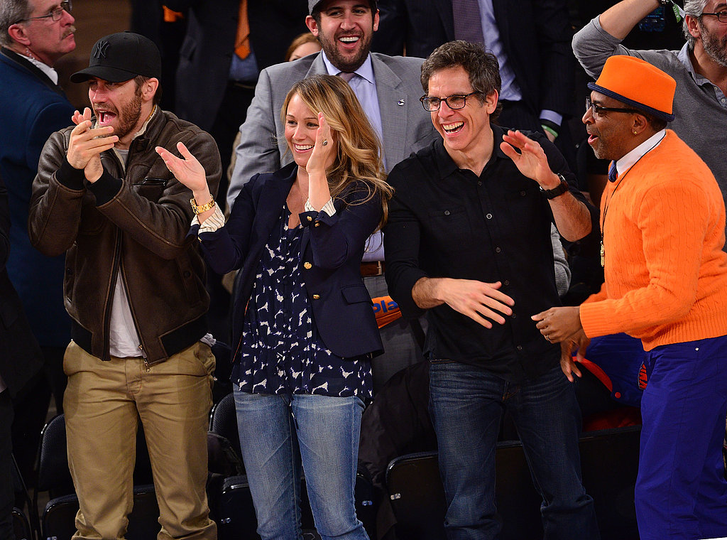 It all started last week, when Jake Gyllenhaal shared front row seats with Ben Stiller and his wife Christine Taylor, and Spike Lee at the NY Knicks game at Madison Square Garden.