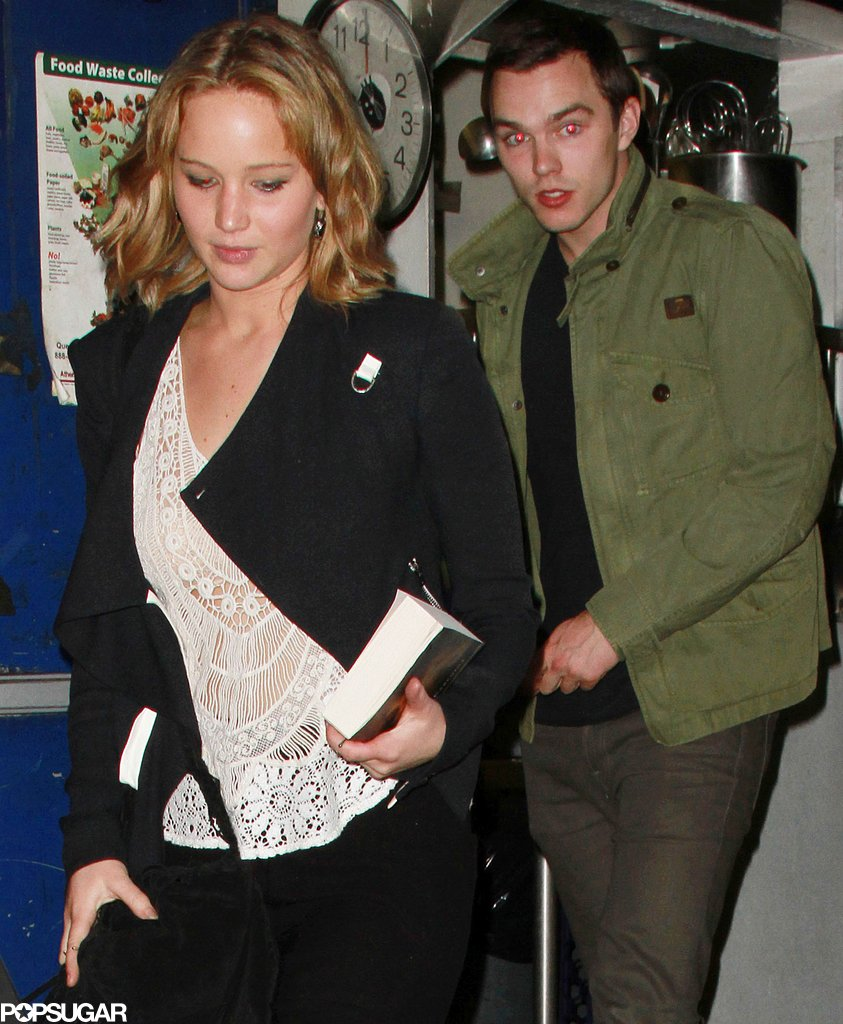 Jennifer Lawrence and Her Ex Reunite For Di