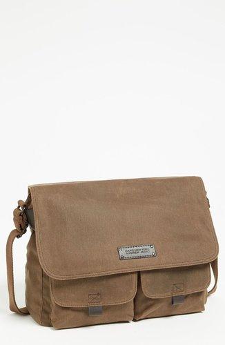 Andrew Marc 'Essex' Twill Messenger Bag